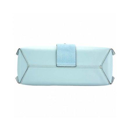 Elegante handtas met los schouderband Sky blue Rossella