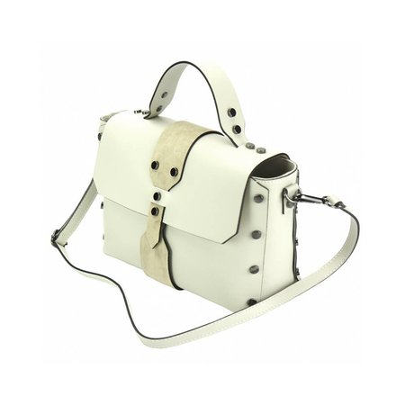Elegante handtas met los schouderband Beige kleur Rossella