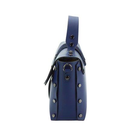 Elegante handtas met los schouderband donker blauw Rossella