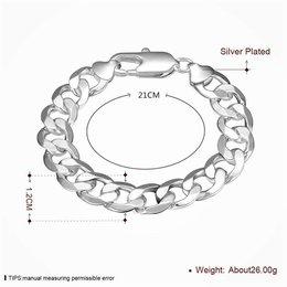 925 Sterling zilver heren armband geometrisch model