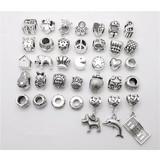 Pandora sieraden armbanden of hangers antiek zilver kleur