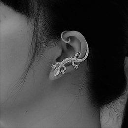 Punk gothic style 1 paar oor manchetten sieraden zilver kleur