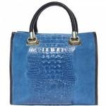 Leren schoudertassen dames handtassen uit Italië