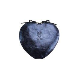 Cuore cross-body leren  tas donker blauwe kleur
