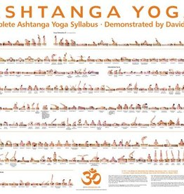 Ashtanga Poster by David Williams -signed!