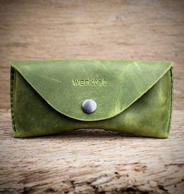 werktat Sichtschutz, the glasses case, green