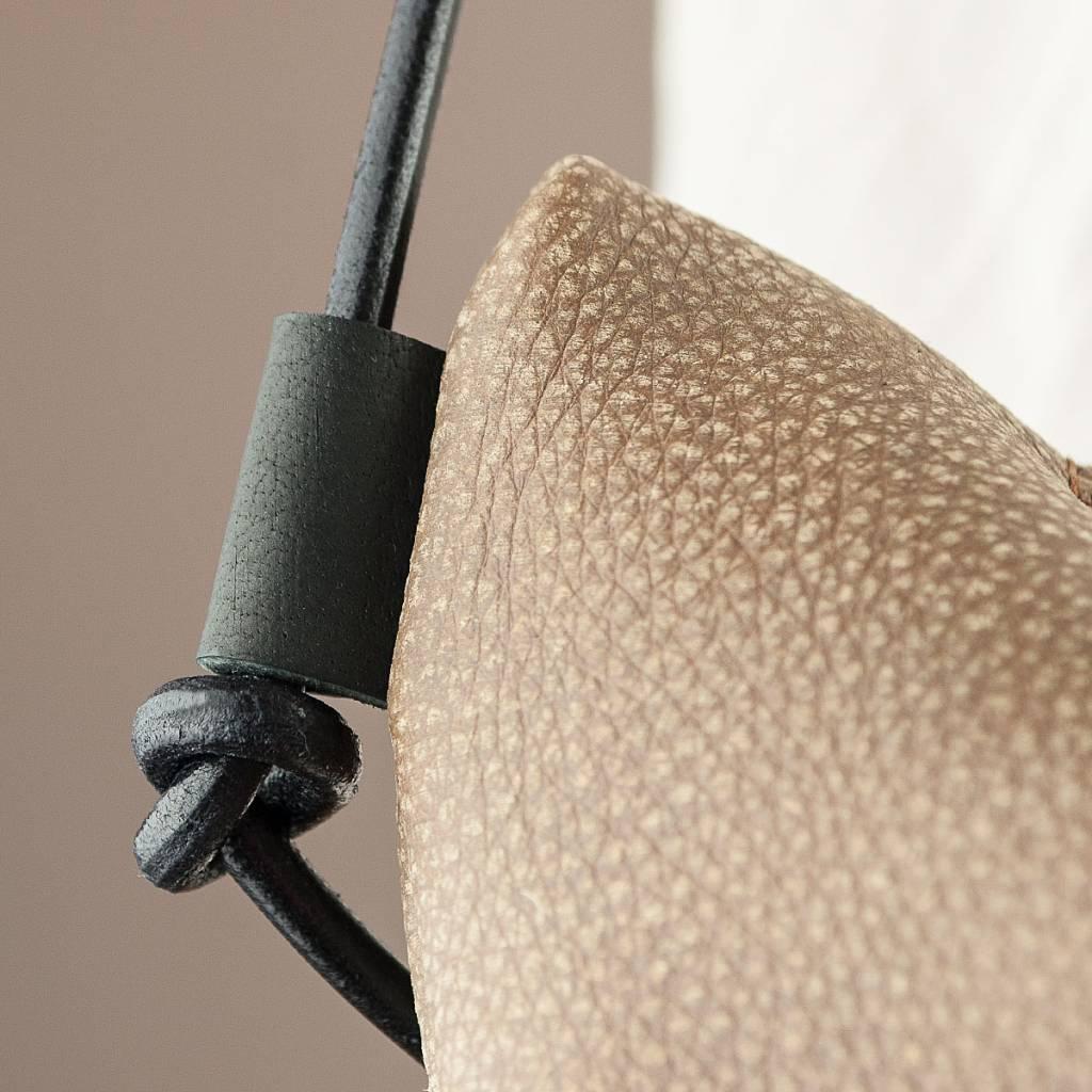 werktat Umhängetasche, Hobo Bag aus weichem, knautschigem Büffelleder, Ledertasche Coachella WT0116, braun caramel, Damentasche Handtasche