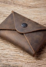 "werktat Visitenkartenetui Leder braun, Etui für Visitenkarten, Kartenetui ""Erstkontakt"", ""chocolate"""