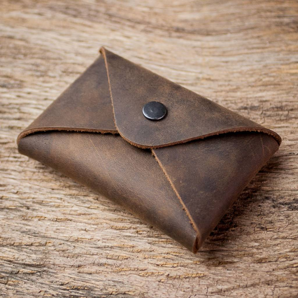 business card holder leather brown \