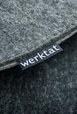 werktat Filz Sitzkissen Kissen Stuhlkissen Bankkissen rund gepolstert 30cm 32,5cm 35cm 37,5cm 40cm