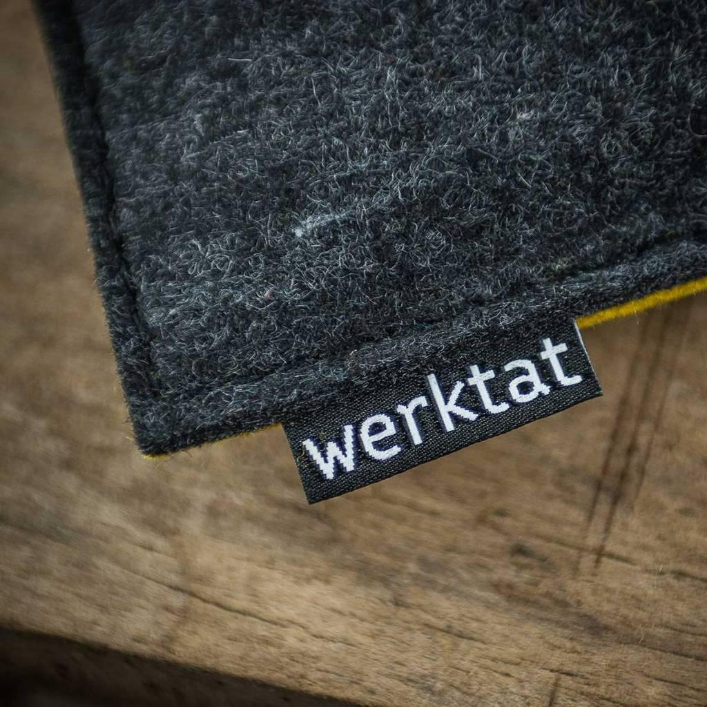 werktat Filz Kissen Sitzkissen Stuhlkissen Bankkissen quadratisch gepolstert 30cm 32,5cm 35cm 37,5cm 40cm