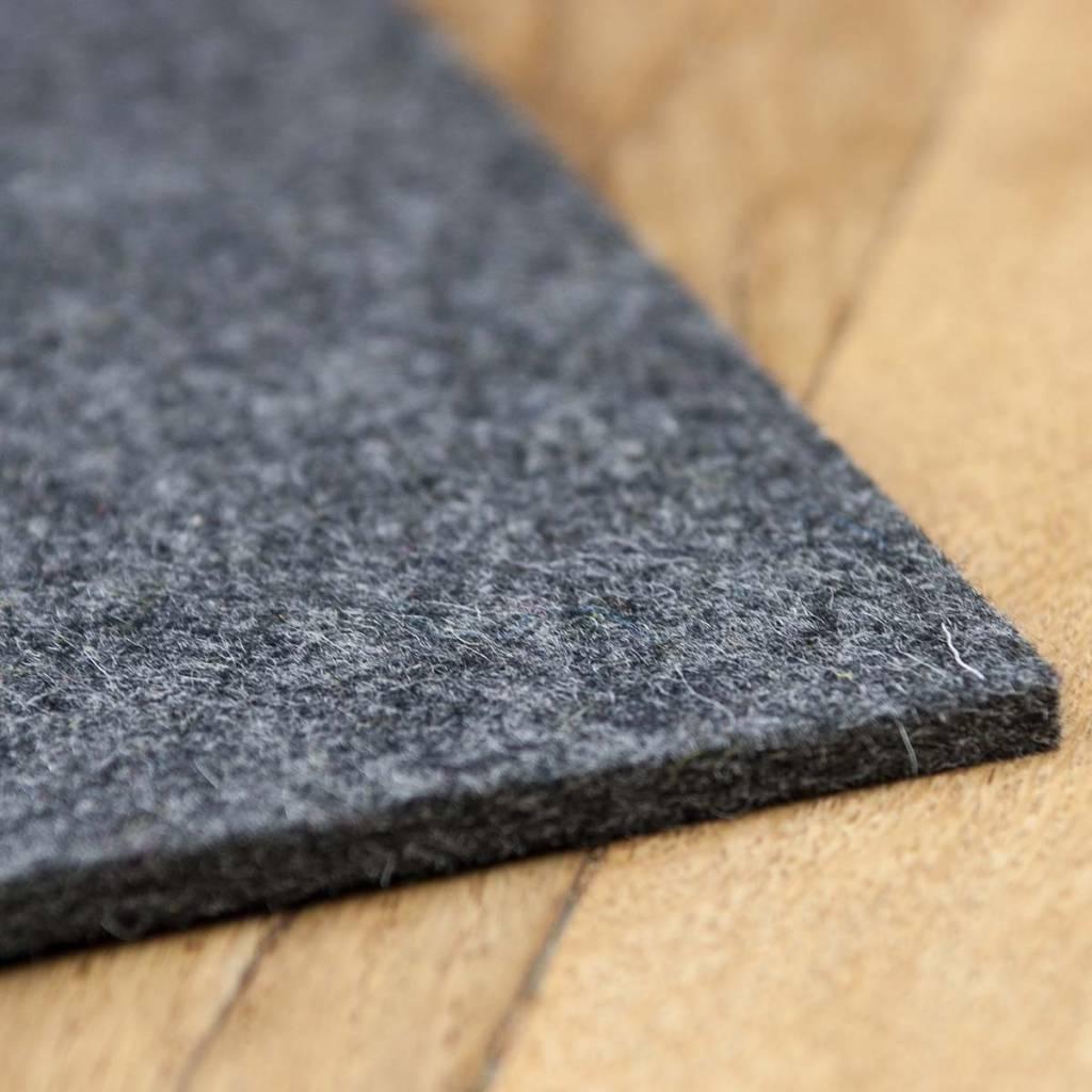 felt placemats quadrat dark gray mixed square  cm  cm   -  werktat felt placemats quadrat dark gray mixed  cm  cm