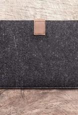 """werktat Surface Pro, 6, 4, Tasche Leder Filz Hülle Ledertasche Filztasche """"Fachwerk"""" passend gefertigt für Microsoft Surface"""