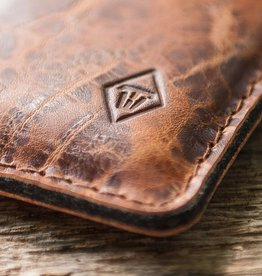 "werktat ""Katastophenschutz wild brown"" iPhone 8 Plus leather case phone sleeve felt, suitable crafted for your iPhone"