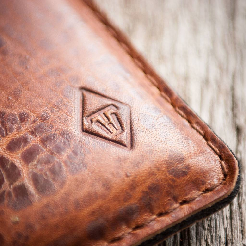 "werktat iPhone Xs Max leather case sleeve felt, ""Katastophenschutz wild brown"" suitable crafted for your iPhone"