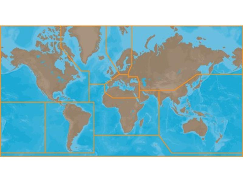 Jeppesen C-Map 4D-4D kaarten Breed