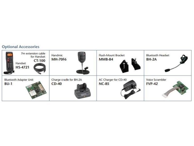 FURUNO Oplader voor headset FM-4721