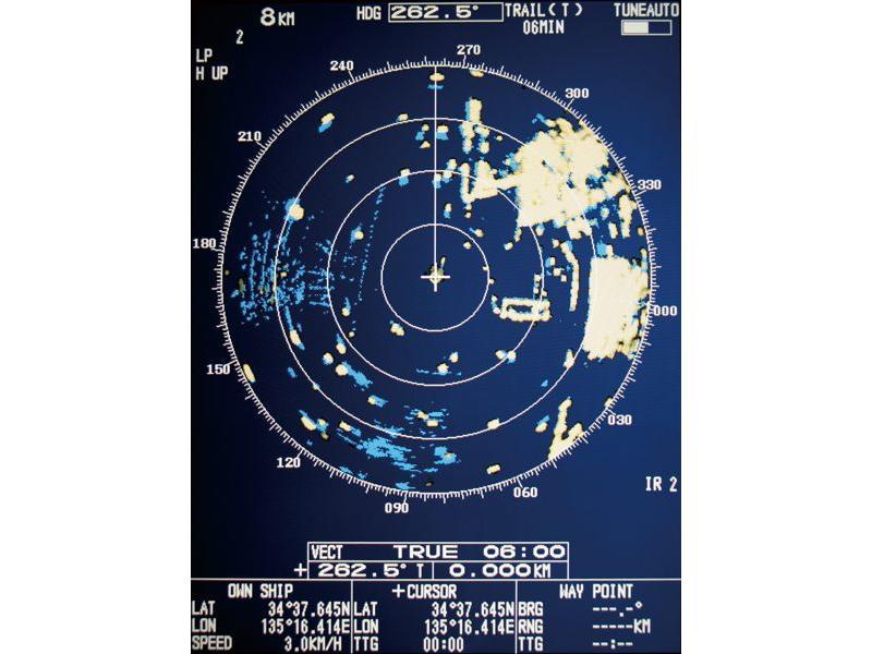 FURUNO M  1937 Color LCD Boat Radar for River Navigation