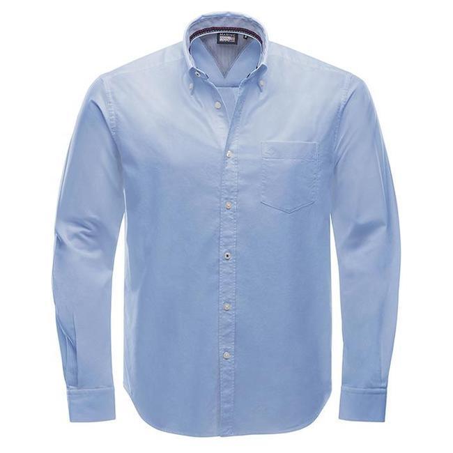 Marinepool Club Shirt Oxford-gewebte Baumwolle