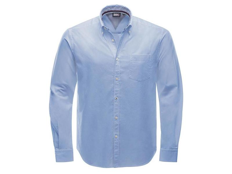 Marinepool Club Shirt Oxford-gewebte Baumwolle