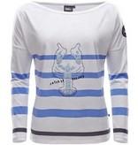 Marinepool Moody Long Sleeve Shirt met kreeft illustratie