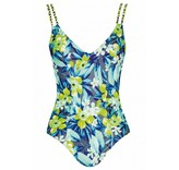 Sunflair Swimsuit Green & Grey