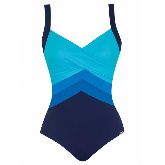Sunflair Swimsuit Orange Laguna Blue