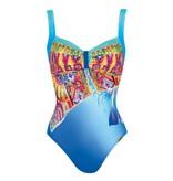 Sunflair Swimsuit Orange Laguna