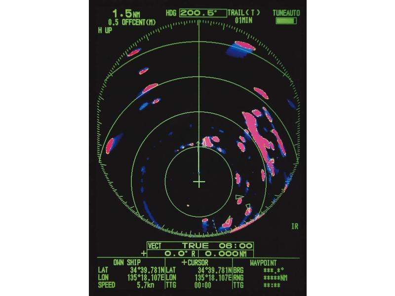 FURUNO M1815 8,4 inch Kleuren LCD Boot radar