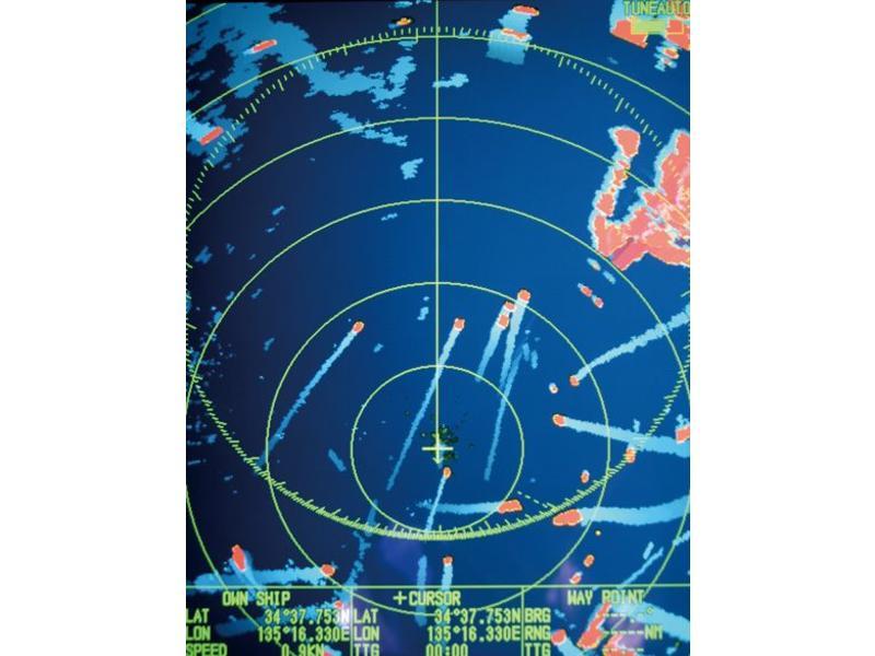 FURUNO M1835 Color LCD Radar