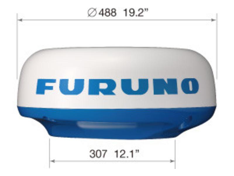 FURUNO M1815 8,4 Inch color LCD Boat Radar