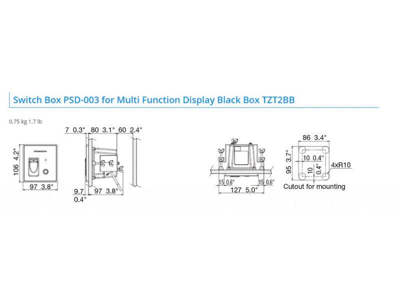 FURUNO TZT2BB Multifunctionele Black Box dubbele CPU