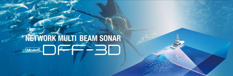 FURUNO DFF-3D NAVnet Multibeam Echolood /Fishfinder