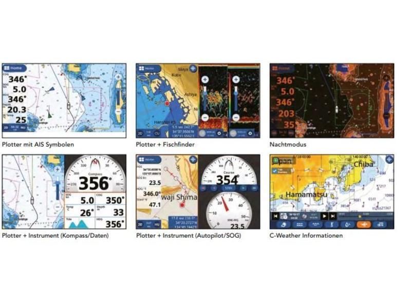 FURUNO GP-1871F  Kaartplotter met CHIRP Fishfinder  /GPS/WAAS