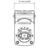 AIRMAR CHIRP Transducer TM150M DT 95-155  Urethane 300W