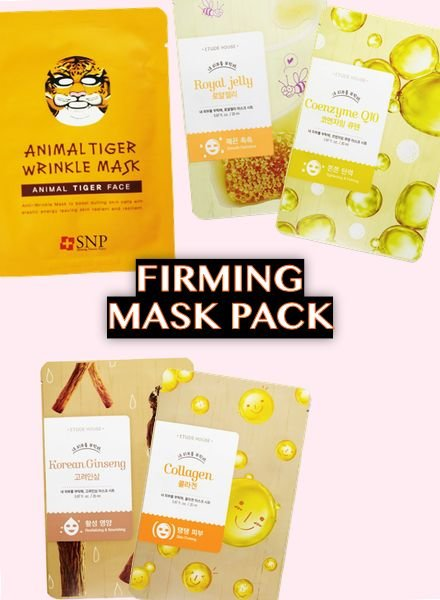 PACK DEALS FIRMING SHEET MASKS