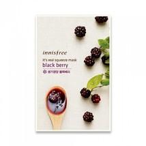 Innisfree INNISFREE - Black Berry It's Real Squeeze Mask