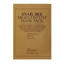 Benton BENTON - Snail Bee High Content Mask Pack