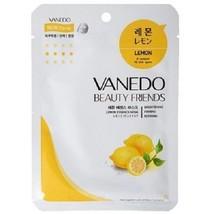 VANEDO - Beauty Friends Lemon Essence Mask Sheet Pack