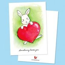 By STEL.EL STEL.EL - Postcard Bunny