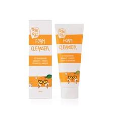 Qyo Qyo QYO QYO - Tangerine Bright + Moist Foam Cleanser