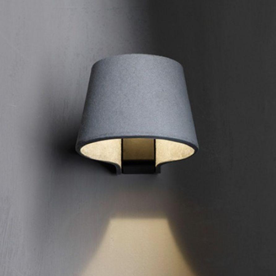 Molto luce clip led wandleuchte creativlicht for Led wandleuchte