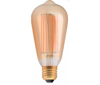 Girard Sudron Edison LED- Filament 4W E27 2100K Bernsteinfarben dimmbar