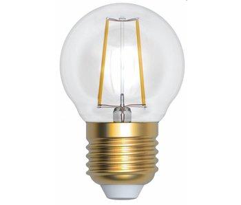 Girard Sudron Kugelform LED- Filament Lampe 4W E27 2700K klar