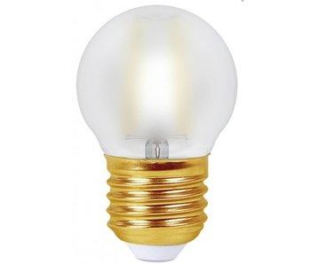 Girard Sudron Kugelform LED- Filament Lampe 4W E27 2700K matt