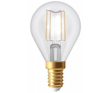 Girard Sudron Kugelform LED- Filament Lampe 4W E14 2700K klar