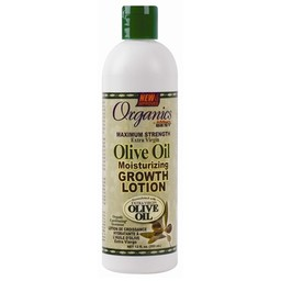 AFRICA'S BEST ORGANICS Olive Oil Moisturizing Growth Lotion 12 oz