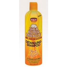 AFRICAN PRIDE SHEA BUTTER MIRACLE Detangling Shampoo 12 oz