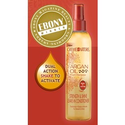 CREME OF NATURE - ARGAN OIL Strength & Shine Leave-In Conditioner 8.45 oz