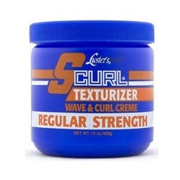 S-CURL Texturizer Wave & Curl Creme - Regular Strength 15 oz